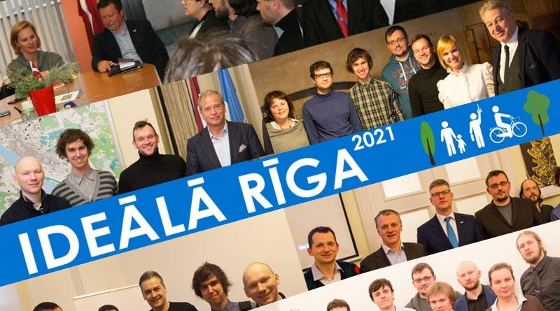 Plāns labākai Rīgai un tikšanās ar partijām