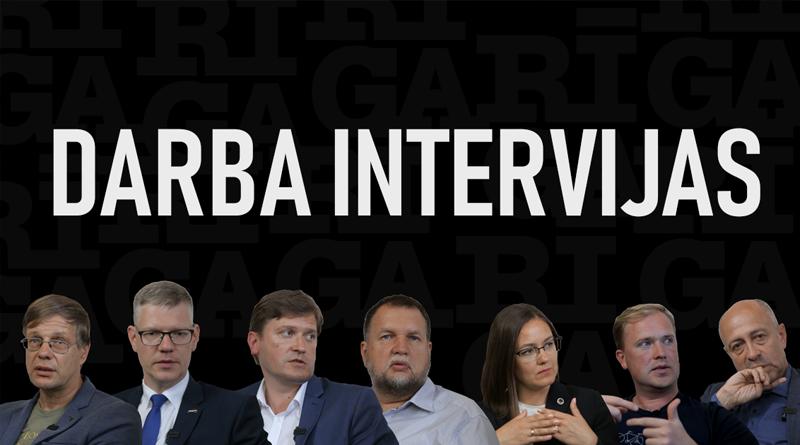 Mēra kandidātu intervijas