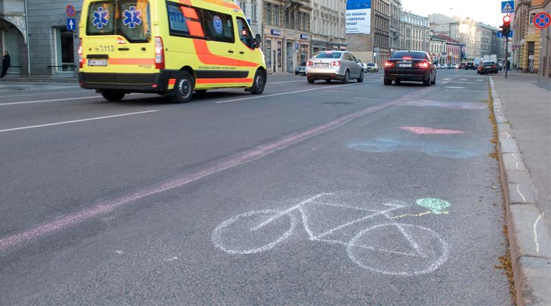 Brīvības ielas velojoslu kampaņa