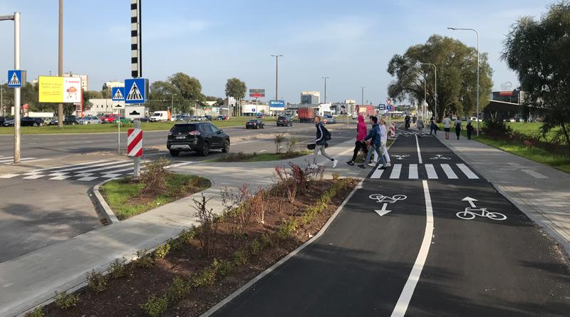 Krasta ielas veloceļa projekts