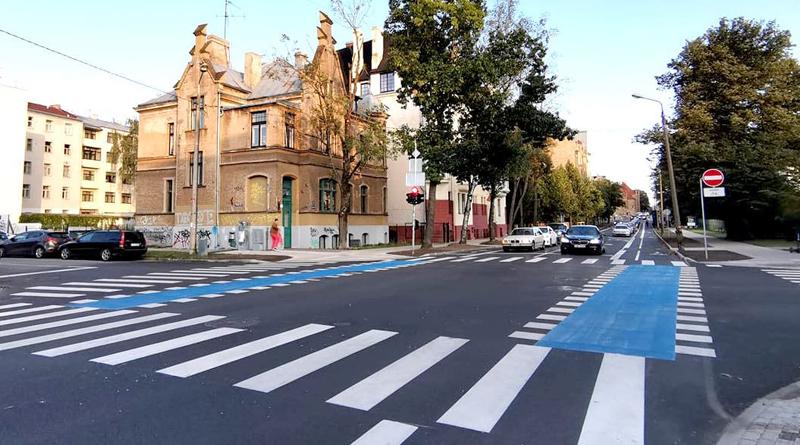 Sporta un Bruņinieku ielas atjaunošanas projekts